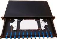12 Port Fiber Optic Patch Panel