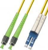 FC APC – LC UPC Singlemode Fiber Patch Cord