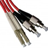 LC-FC OM2 Multimode Fiber Optic Patch Cord