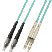 LC-FC OM3 Multimode Fiber Optic Patch Cord