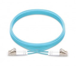 LC-LC OM4 Multimode LSZH Fiber Patch Cord