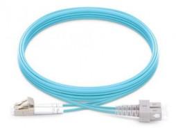 LC - SC OM4 Multimode LSZH Fiber Patch Cord