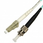 LC-ST OM3 Multimode Fiber Optic Patch Cord