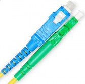 LC APC – SC UPC Fiber Optic Patch Cord