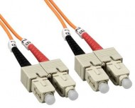 SC-SC OM2 Multimode Fiber Optic Patch Cord