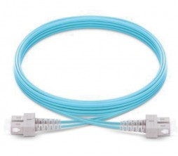 SC-SC OM4 Multimode LSZH Fiber Patch Cord