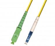 SC APC – LC UPC Singlemode Fiber Patch Cord