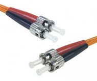ST-ST OM2 Multimode Fiber Optic Patch Cord