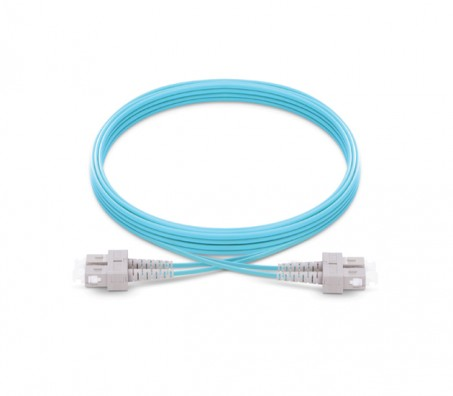 SC-SC OM3 Multimode Fiber Optic Patch Cord