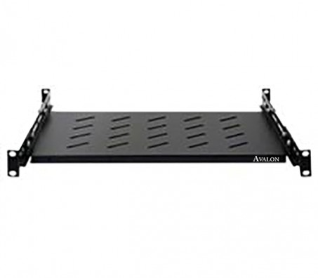 1U Universal Rack Mount Sliding Shelf