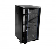 22U x 600(W) x 1000(D)-Rack with Perforated Back Door