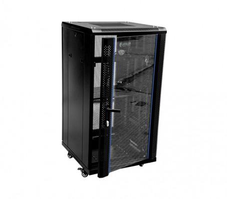 22U X 800(W) X 800(D)-RACK WITH PERFORATED BACK DOOR