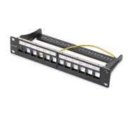 Cat.5e 12 Port Blank Patch Panel