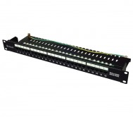 25 Port Voice Patch Panel