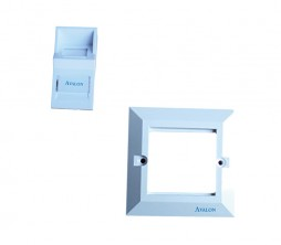 Angular Faceplate and Frame