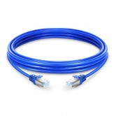 CAT.6 STP Patch Cord Blue - 1 Mtr