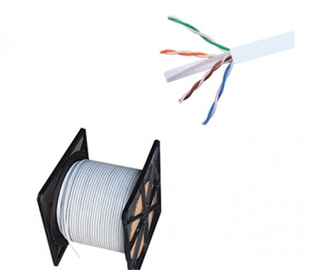CAT.6 UTP 24 AWG PVC Cable 305 Meter Grey
