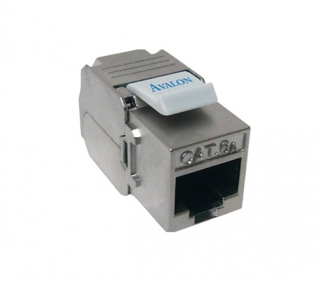 CAT.6A 180 Degree STP Keystone Jack