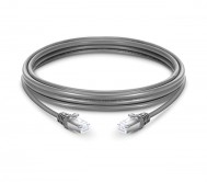 CAT.6 STP Patch Cord Grey - 1 Mtr