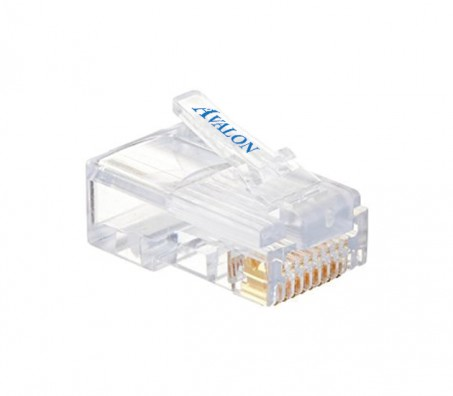 RJ45 Cat.6A Unshielded Connectors (Pack of 100 Pcs)