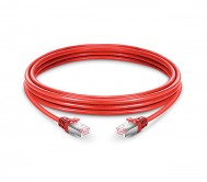 CAT.6 STP Patch Cord Red - 1 Mtr
