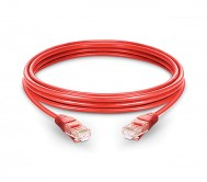 CAT.6A UTP Patch Cord Red - 1 Mtr