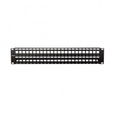 Cat.6 48 Port Blank Patch Panel