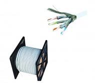 CAT.6 STP Cable - 305 Meter - LSZH - Grey